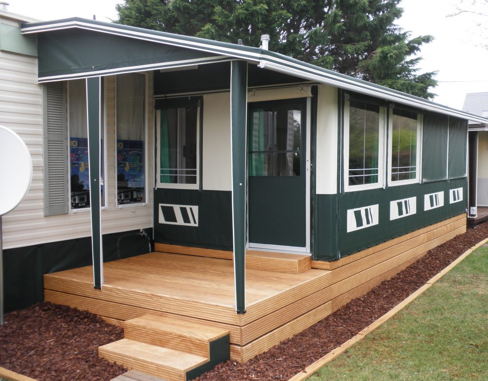 awnings for mobile homes / static caravans - Levooz ...