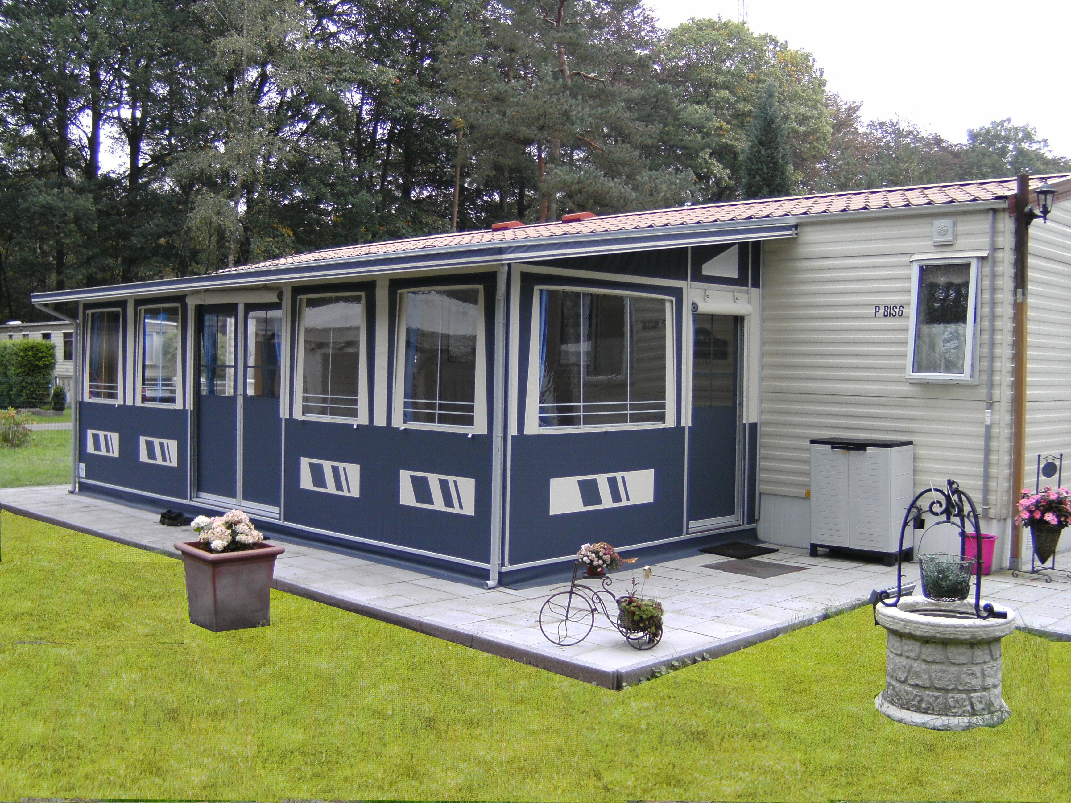 Permanent R 233 Si Levooz Caravan Awnings Garden Awnings